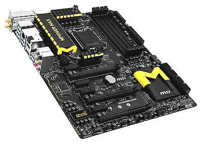 MSI LGA1150 Z97 MPOWER Max AC with HDMI SATA 6Gb/s ATX Intel Motherboard