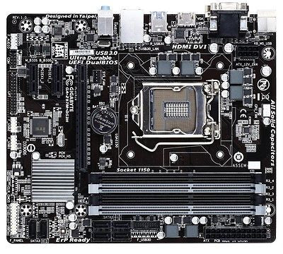 GIGABYTE LGA1150 GA-Z97M-DS3H with HDMI SATA 6Gb/s Micro ATX Intel Motherboard