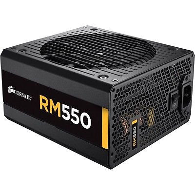 CORSAIR 550W RM550 80 PLUS GOLD Certified Full Modular Power Supply
