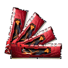 G.SKILL Ripjaws 4 16GB (4 x 4GB) DDR4 2666 (PC4-21300) Memory F4-2666C15Q-16GRR