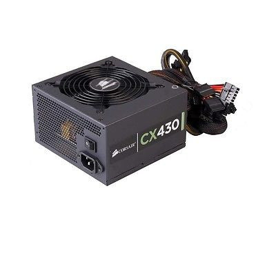 CORSAIR Builder Series 430-Watt 80 PLUS BRONZE Certified Power Supply (CX430)