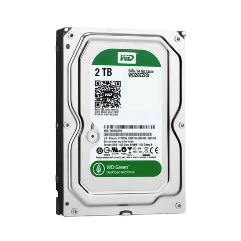 WD Green 2TB WD20EZRX IntelliPower SATA 6.0Gb/s Internal Desktop Hard Drive -OEM
