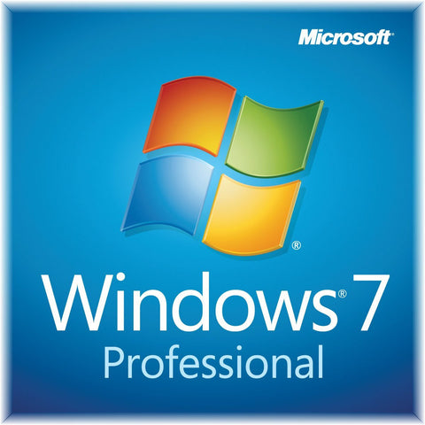 Windows 7 Professional SP1 64-bit System Builder Pack (Slim Envelope packaging)