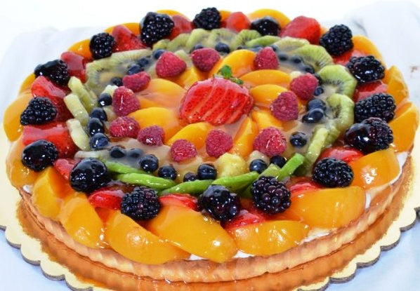 1025 – Fruit Tart Galore - Pastry Palace