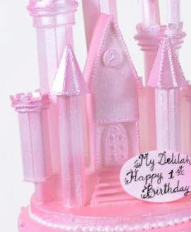 1072-Pink Princess Castle - Pastry Palace