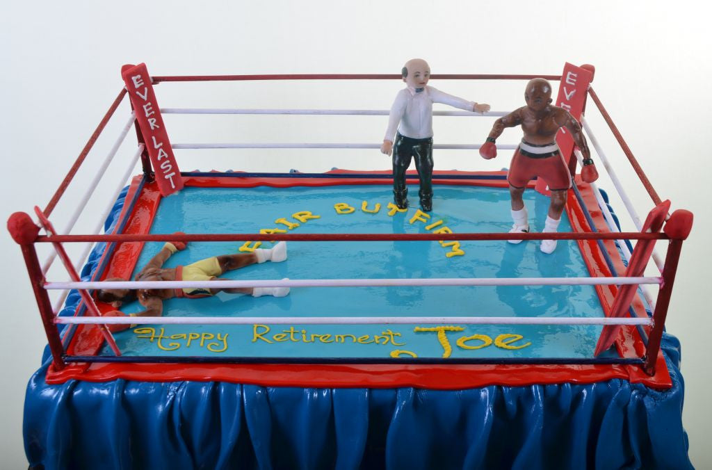 1079-Boxing Ring Knockout - Pastry Palace