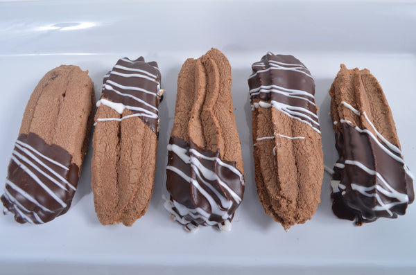 Chocoalte Dipped Sandwich Cookies