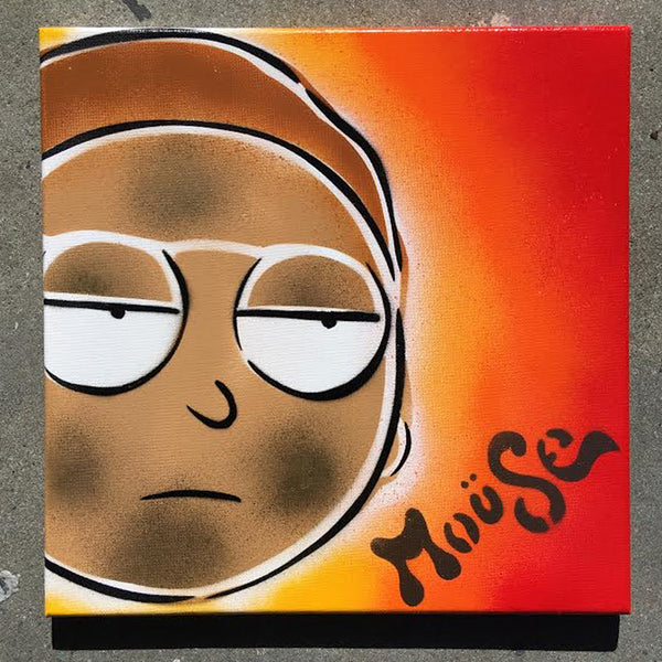 MORTY ON CANVAS