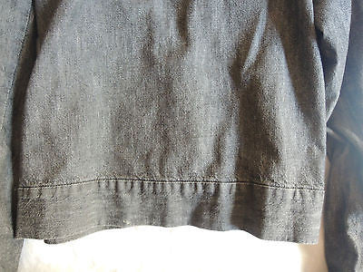 ~ MARTIN MARGIELA CHAMBRAY DENIM JEAN JACKET (WARDROBE ESSENTIAL!) ~ 38