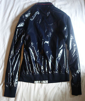 ~NWT GUCCI NAVY NYLON ZIP UP JACKET / COAT (EVERYDAY COOL!)  ~  54