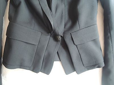 ~ A.L.C. NAVY SINGLE BUTTON BLAZER / JACKET (TAILORED PERFECTION!) ~ 0