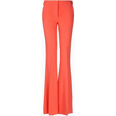 ~ STELLA MCCARTNEY CORAL FLUID TROUSER PANTS (A FLAWLESS FIT!) ~ 38