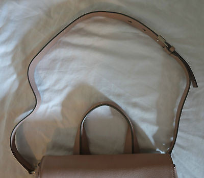 ~$2.4K GIVENCHY PANDORA PURE BLUSH LEATHER CROSS BODY SATCHEL BAG (IT GIRL BAG!)
