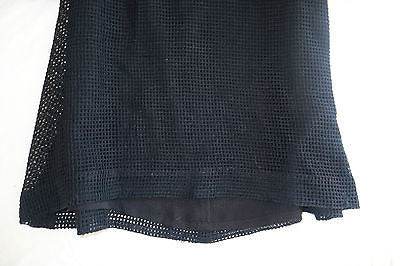 ~ 3.1 PHILLIP LIM BLACK MESH LACE BABYDOLL DRESS (TOTES ADORBS!) ~ 6