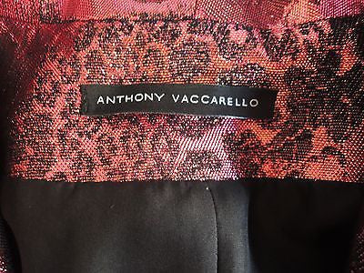 ~$2K ANTHONY VACCARELLO MULTI COLOR JACQUARD BLAZER / JACKET (PERFECTION!) 38
