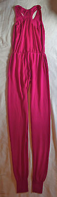~ STELLA MCCARTNEY HOT PINK CASHMERE SILK JUMPSUIT (RUNWAY FAVE!) ~ 36