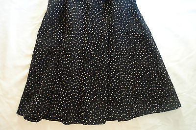 ~ OPENING CEREMONY BLACK BEADED DAZA FIT & FLARE DRESS  (TOTAL STUNNER!) ~ 8