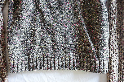 ~ RAG & BONE PINK & HEATHER GRAY KNIT SWEATER (COOL-GIRL FAVE!)~ S