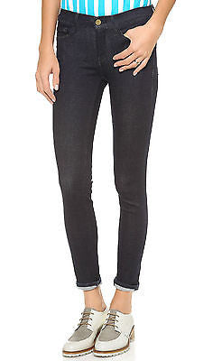 FRAME DENIM LE SKINNY DE JEANNE JEANS IN OLYMPIC BLUE (FLAWLESS FIT!) 25