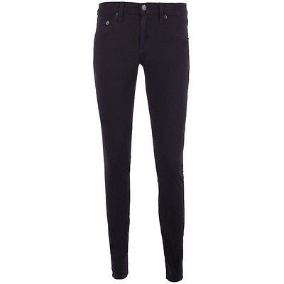 ~NWT RAG & BONE SKINNY LEGGING JEANS IN DARK EGGPLANT (BEST FIT EVER!) ~ 26