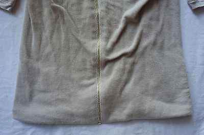 ~ CHLOE LIGHT GRAY TAUPE CASHMERE SILK KNIT TOP (COZY MEETS LUXE!) ~ S