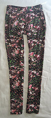 ~ GIVENCHY DIGITAL FLORAL PRINT LEGGINGS / PANTS (DAY TO NIGHT COOL!) ~ S