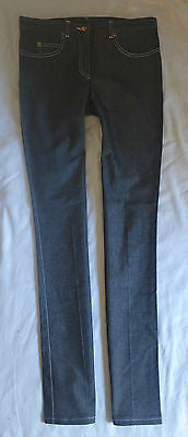 ~ CHLOE DARK DENIM RELAXED STRAIGHT LEG JEANS (FRENCH-GIRL APPEAL!) ~ F 38