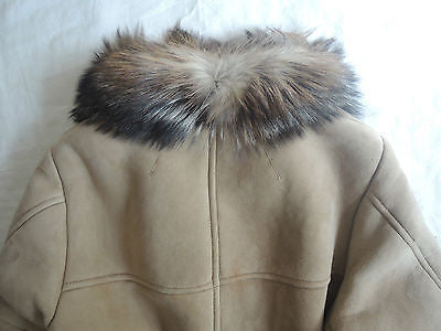 ~$6.9K ISABEL MARANT SHEARLING SUEDE & FUR COLLAR COAT (EXTREMELY RARE!) ~ 38