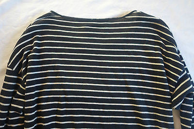 ~ NILI LOTAN BLACK & WHITE STRIPED SWEATER (FRENCH GIRL CHIC!)~ XS