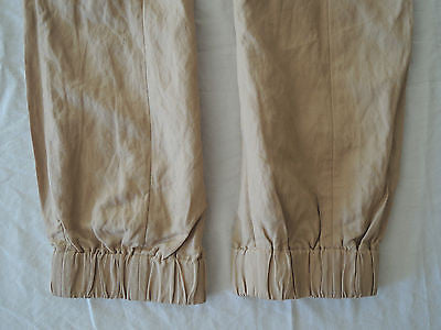 ~ J BRAND KHAKI RELAXED ELASTIC TRIM TAPERED PANTS (SO CASUAL COOL!) 27