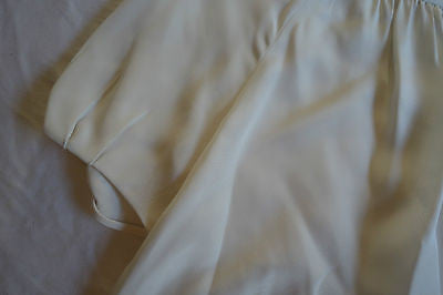 ~ L'AGENCE IVORY SILK SHORT SLEEVE BLOUSE TOP (IT'S LOVE!) ~ 4