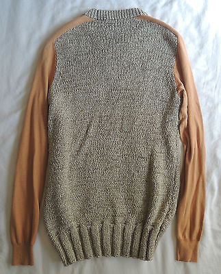 ~NWT CARVEN TWO TONE LONG SLEEVE SWEATER (COOL MEETS LUXE!) S