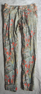 ~ ALICE + OLIVIA FLORAL PRINT SILK TROUSER PANTS (SPRING IS HERE!) ~ 4