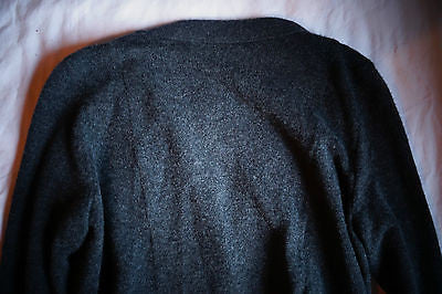 ~ MOSCHINO GRAY CASHMERE WOOL BOYFRIEND CARDIGAN SWEATER (OHHH SO SOFT!)~ 38