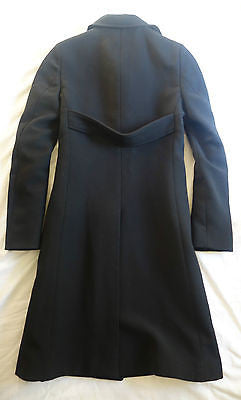 ~ BURBERRY BLACK SINGLE BREASTED LONG COAT / JACKET (A WARDROBE ESSENTIAL!) 6