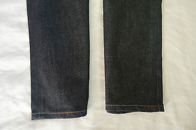 ~ NWT ACNE DARK DENIM RELAXED HEX SKINNY JEANS (COOL-GIRL APPEAL!) ~ 31