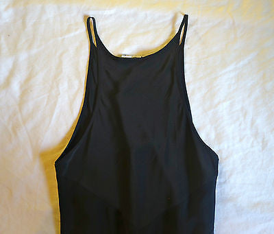 ~ ALEXANDER WANG BLACK SILK SLEEVELESS MAXI DRESS (BLOGGER FAVE) XS