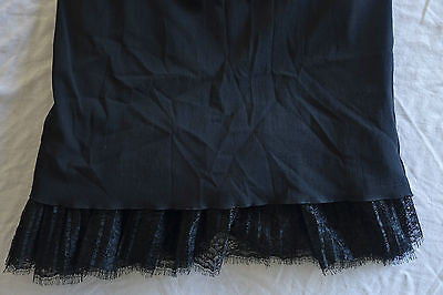 ~ DOLCE & GABBANA BLACK BUSTIER & LACE TRIM DRESS (TOTAL BOMBSHELL!) ~ 42