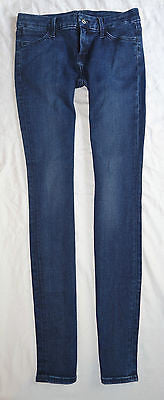 ~ KORAL MID RISE SKINNY JEANS IN WORN BLUE (BEST FIT EVER)~ 26