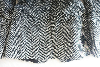 ~ RAG & BONE BLACK & GRAY OMBRE TWEED BLAZER / JACKET (PURE PERFECTION!) ~ 4