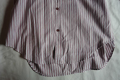 ~ NWT ALEXANDER MCQUEEN STRIPED COTTON BUTTON-DOWN DRESS SHIRT  ~ 52