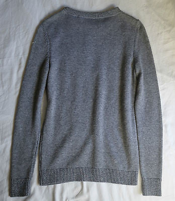 ~NWT BARBARA BUI GRAY CASHMERE BOYFRIEND SWEATER (OHHH SO SOFT!)~ S