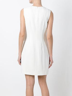 ~ A.L.C. WHITE ASYMMETRICAL RUFFLE CLARENCE DRESS (INSANELY PRETTY!) 36