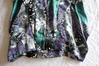~ PETER PILOTTO DIGITAL PRINT SLEEVELESS SILK MINI DRESS (STATEMENT MAKING!) 4