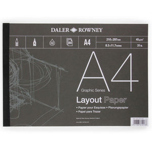 Daler Rowney A4 Layout Pad