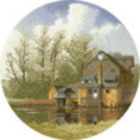 Heritage Crafts - John Clayton Collection - Watermill Cross Stitch Kit