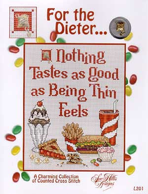 For The Dieter Cross Stitch Chart (w/chm)
