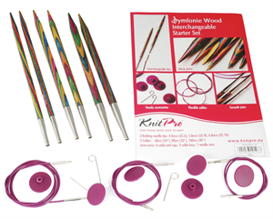Symfonie: Knitting Pins: Circular: Interchangeable: Starter Set by Knitpro