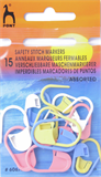 Pony Safety Stitch Markers Assorted - Pack of 15