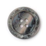Button - Pearly Grey - 23mm